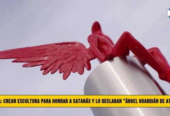 """Grecia: Crean escultura para Honrar a Satanás y lo declaran """"�ngel Guardián de Atenas�"""