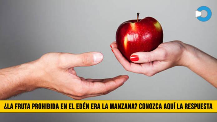 ¿La Fruta Prohibida en el Edén era la Manzana? Conozca aquí la respuesta