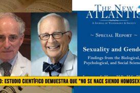"""Video: Estudio Científico Demuestra que """"No se nace siendo Homosexual�"""