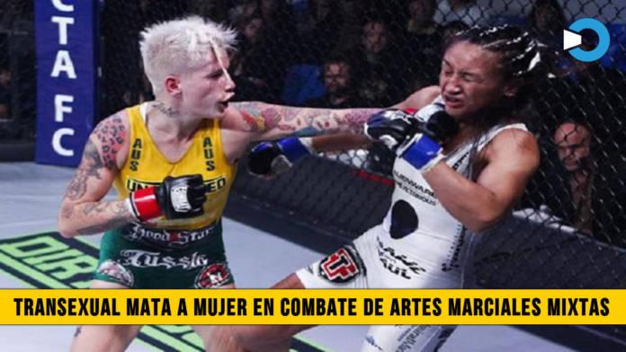 Transexual mata a mujer en Competencia de Artes Marciales Mixtas