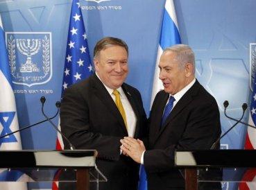 """Mike Pompeo: """"Si Irán perjudica a Israel militares de EE.UU. responderán"""""""