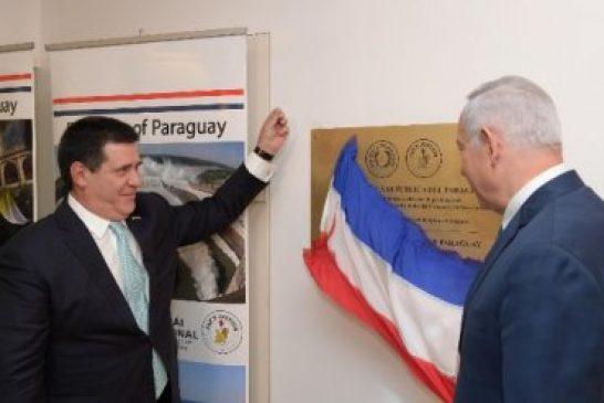 Paraguay inaugura su embajada en Jerusalén