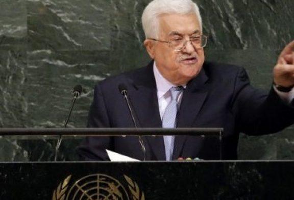 """Abbas rechaza paz por Trump: """"Jerusalén no está a la venta"""""""