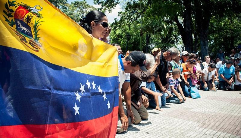 Iglesias de Venezuela piden oración por paz tras muertes durante protestas