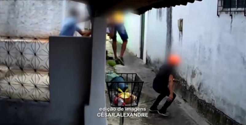 """Víctima de asalto habla en """"lenguas extrañas"""" y arma de asaltante falla"""