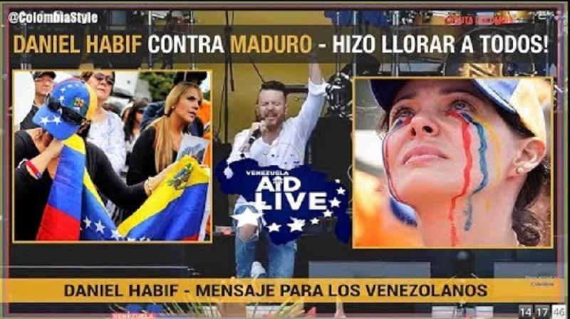 """Daniel Habif a Maduro: """"El líder más poderoso es el que le entrega el poder a Dios"""""""