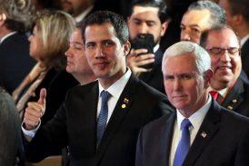 """""""Ustedes verán la liberación del Señor"""", dice Pence a venezolanos"""