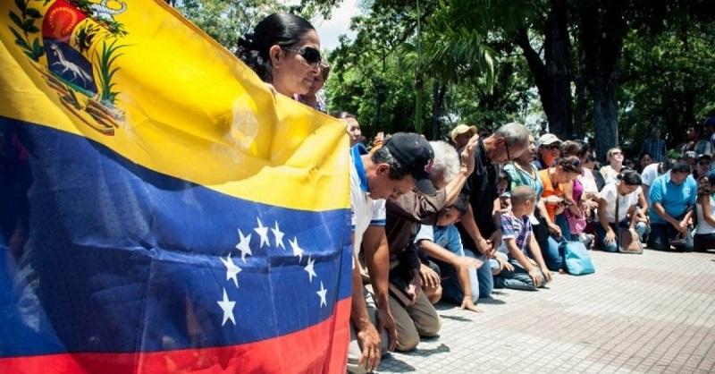 Convocan a oración por Venezuela para este 17 de marzo