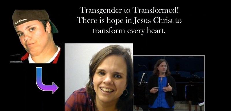 Ella vivió como 'Jake' durante casi 10 años hasta que aceptó a Cristo